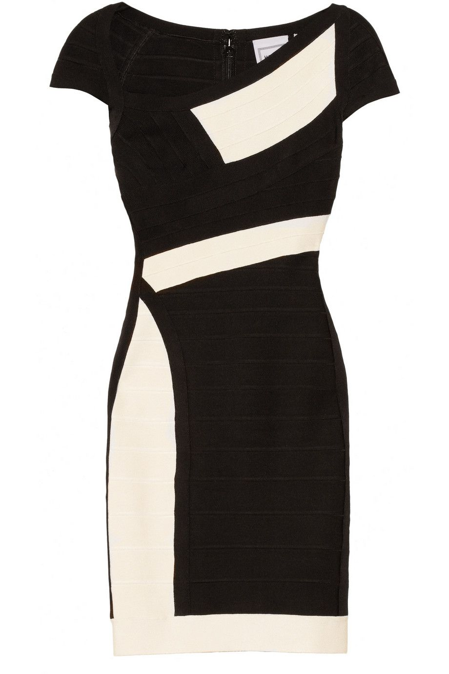 Hervé Léger Color Block Bandage Dress Net A Porter