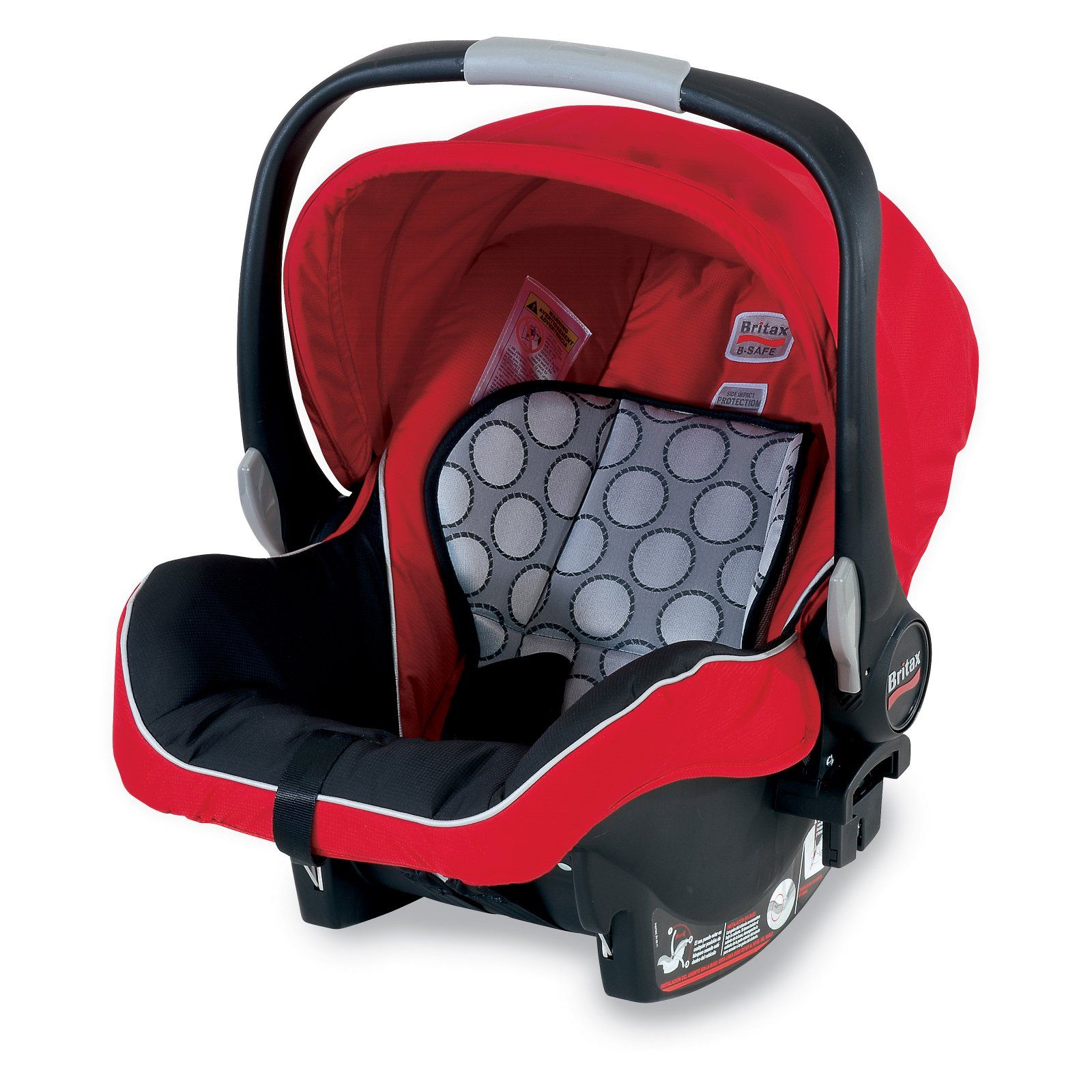 Britax BSafe Infant Car Seat & Baby Carrier Red