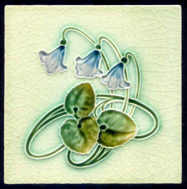 I Heart Shabby Chic: Shabby Chic Meets Art Nouveau Tiles