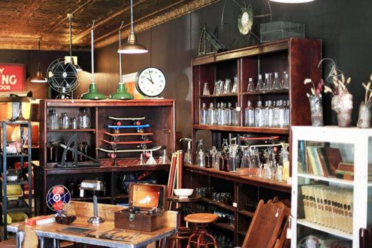 Brooklyn Reclamation Industrial Vintage Modern Style With Images Shop Interiors Trendy Furniture Furniture