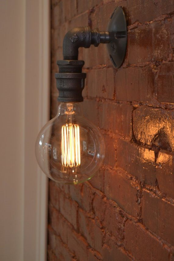 Wall Sconce - Industrial Lighting - Wall Sconce - Industrial Light ...