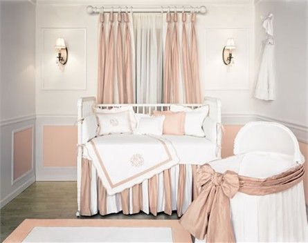 Beverly Hills Blush Crib Bedding Collection