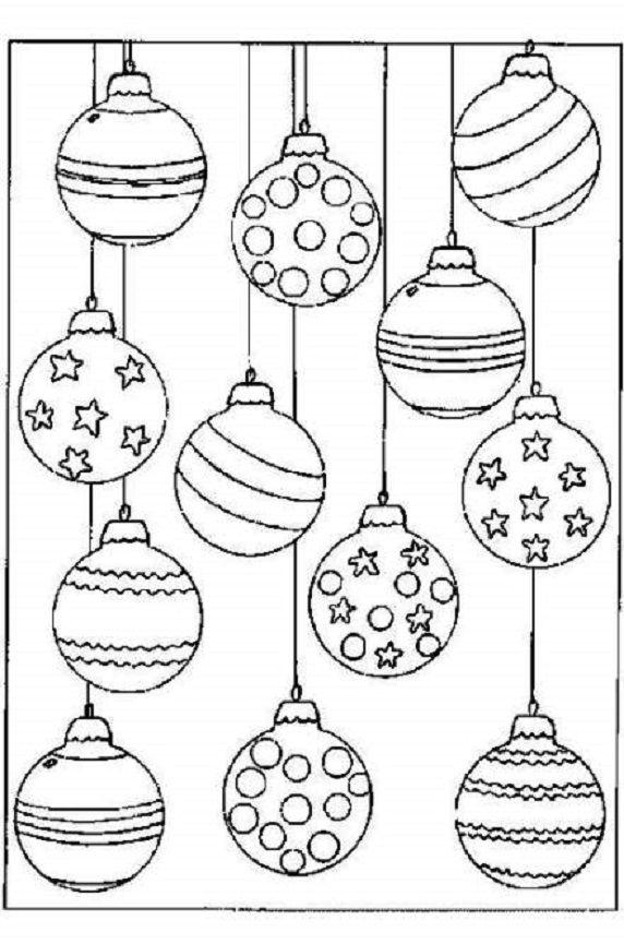 Bolas De Navidad Dibujos Para Colorear.Como Hacer Bolas De Navidad Para Colorear Dibujos