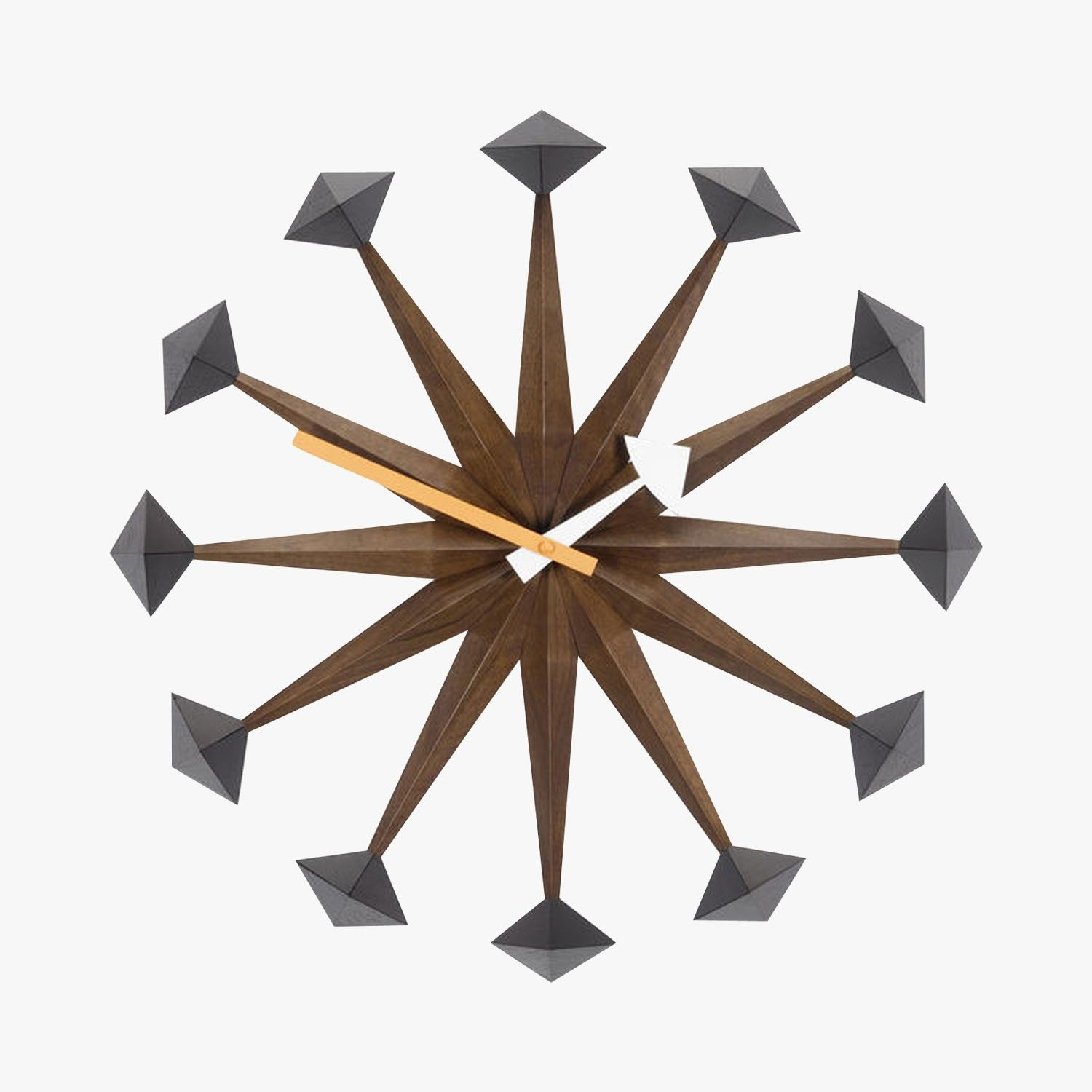 horloge, polygon clock, george nelson, 1948-1960 - vitra - find this