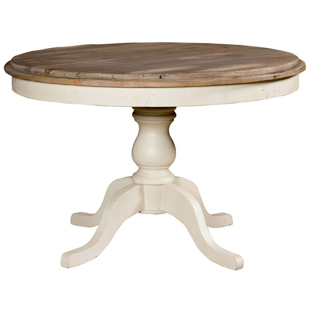 this round dining room table from the country cottage collection embodies the classic style and - Round Wood Dining Table