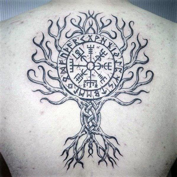 Image Result For Yggdrasil Tattoo Tatouage Tatouage Viking