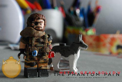 Lego Metal Gear Solid V Big Boss
