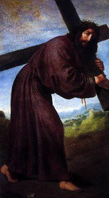 Francisco De Zurbaran Cristo Con La Cruz A Cuestas 1653 Oleo Sobre Lienzo Catedral De Chartes Jesus Art Drawing Jesus Art Christian Paintings