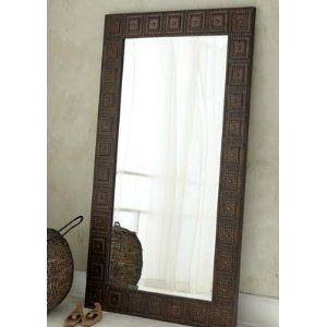 Delightful Amazon.com: Extra Large Full Length FLOOR Wall Mirror HAMMERED BRONZE: Home  U0026 Photo Gallery