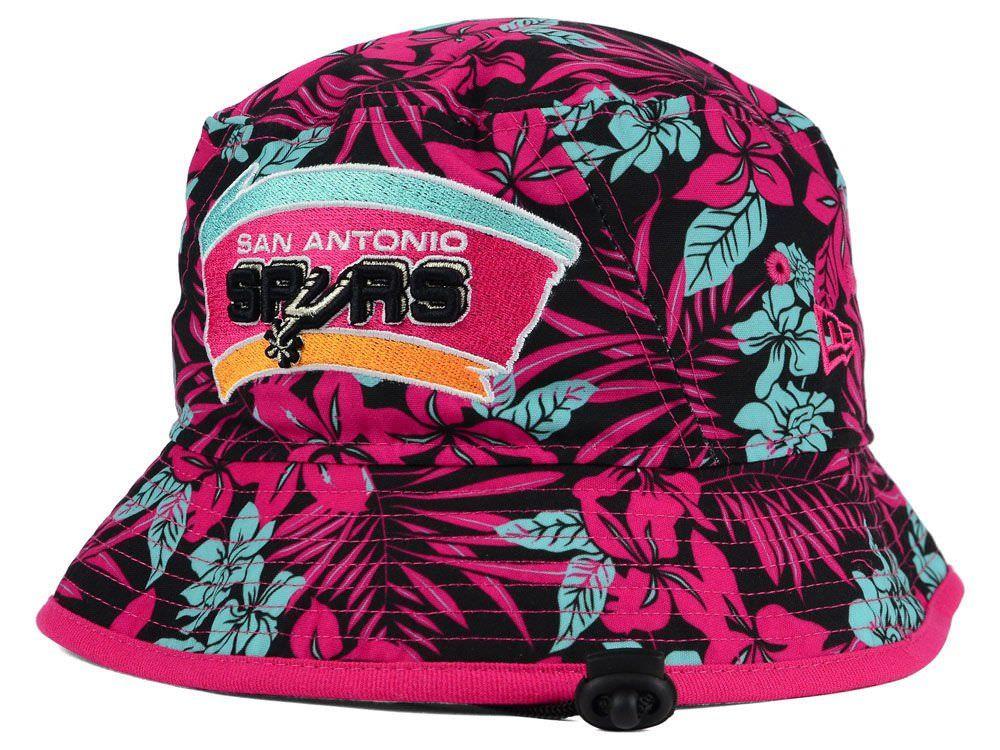 14ae00f9a48 New Era San Antonio Spurs NBA HWC Wowie Bucket Medium