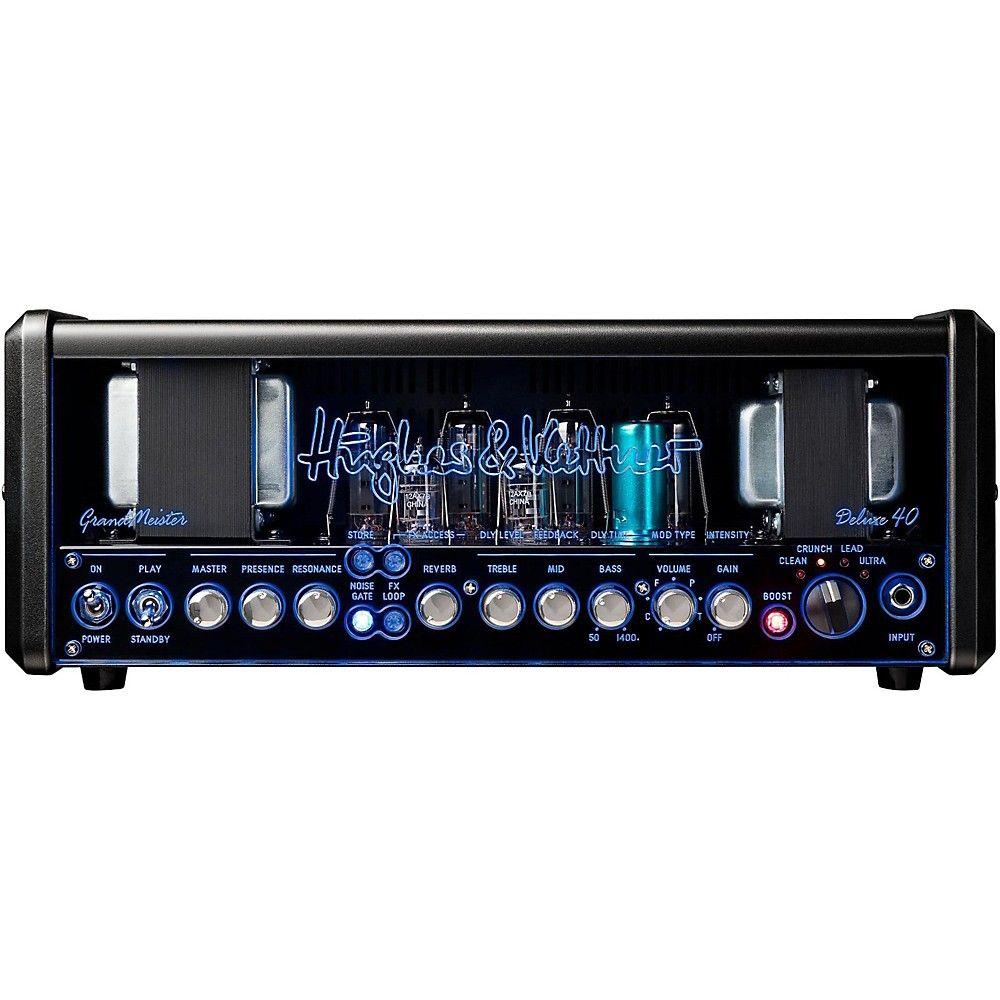 Hughes Kettner Gm40dh Grandmeister Deluxe 40 40w Guitar Amplifier Head Rehearsal Room Guitar Circuit Design