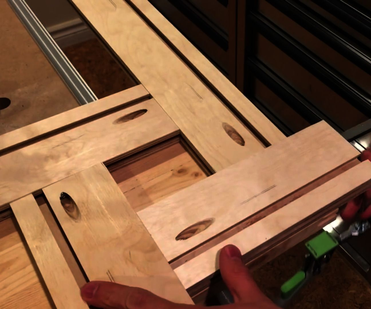 Diy Adjustable Router Template Template Plywood And