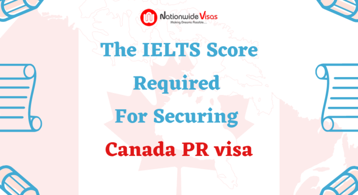 The Ielts Score Required For Securing Canada Pr Visa In 2020 Ielts Visa Federal Skilled Worker