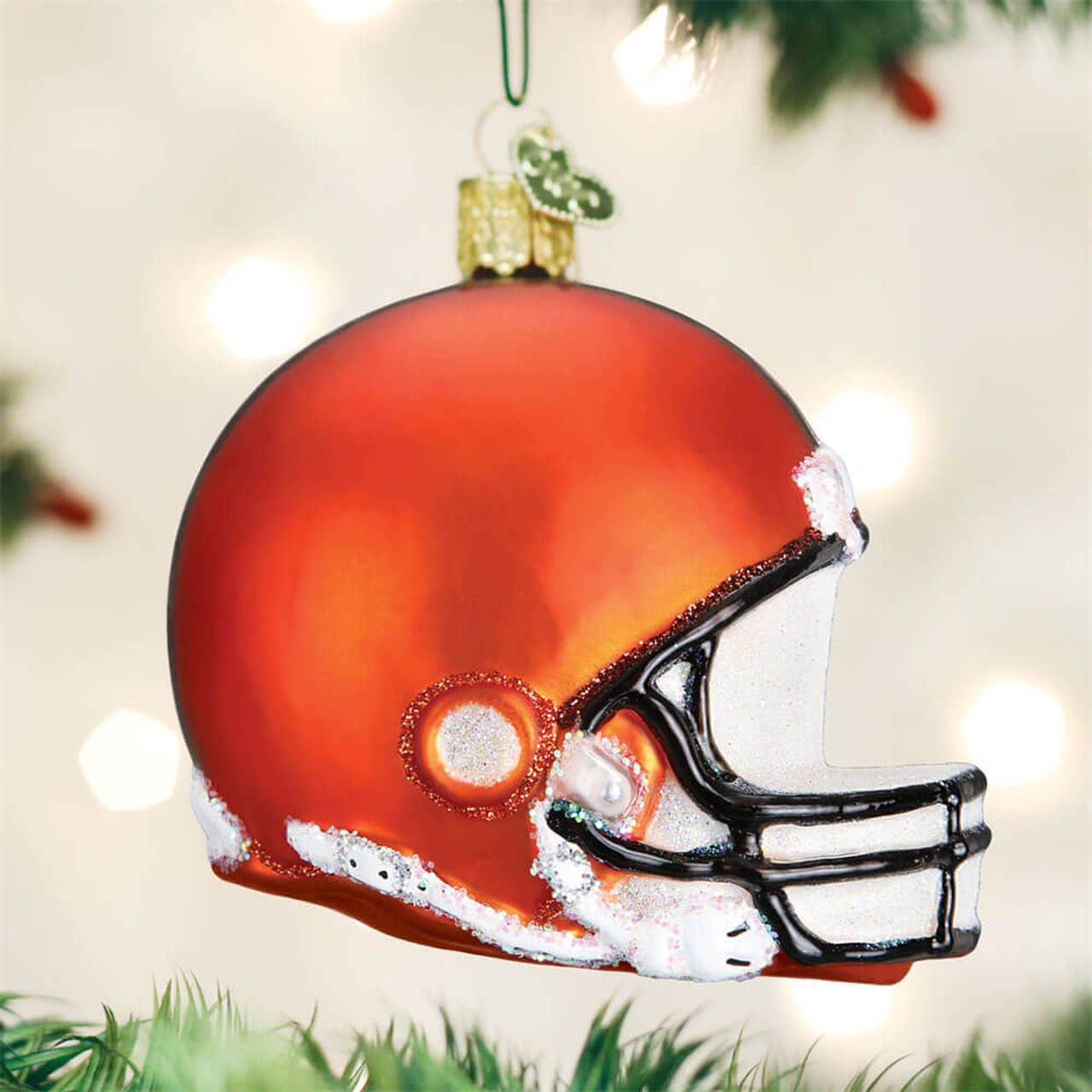 Cleveland Browns Football Helmet Christmas Ornament