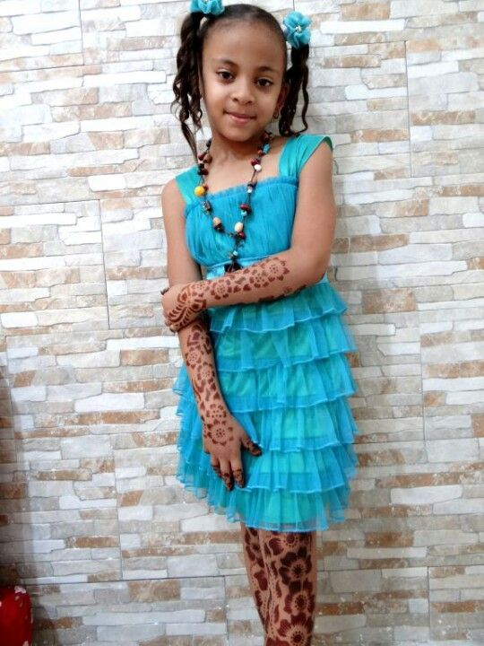Cutie and the dress is only for 5 dollers my sis