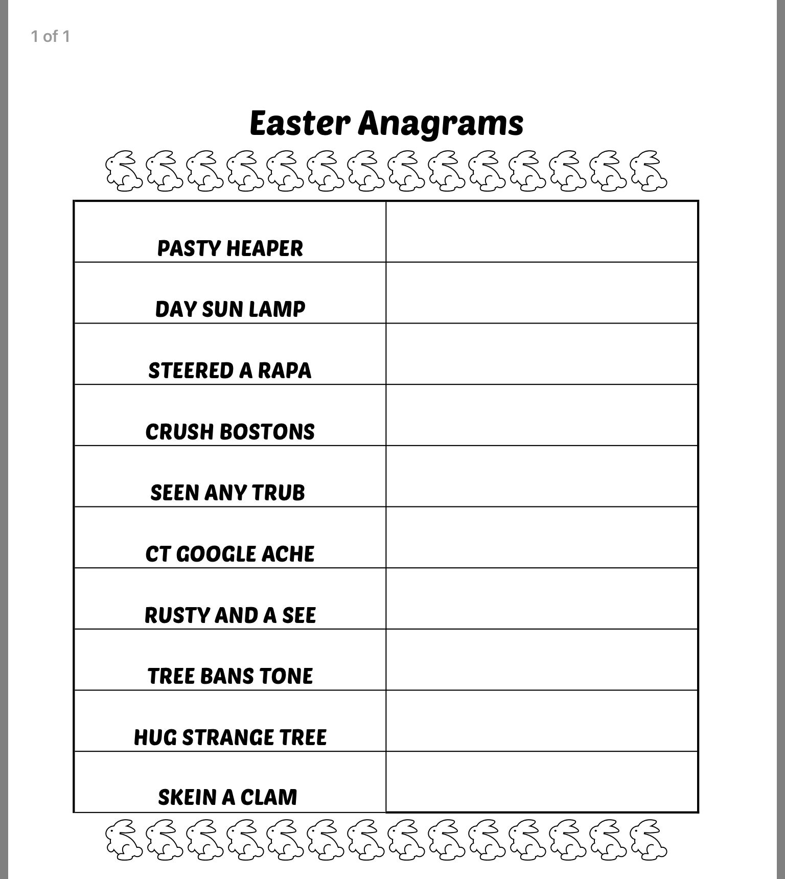 Pin On Easter Quiz