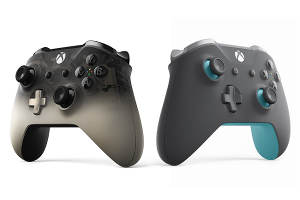 Microsoft Releases Xbox Wireless Controller Phantom Black Special Edition And Xbox Wireless Controller Grey Blue Price Availability Xbox Wireless Controller Xbox Controller Xbox One Controller