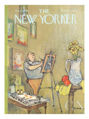 The New Yorker Cover - January 15, 1966 Premium Giclee Print