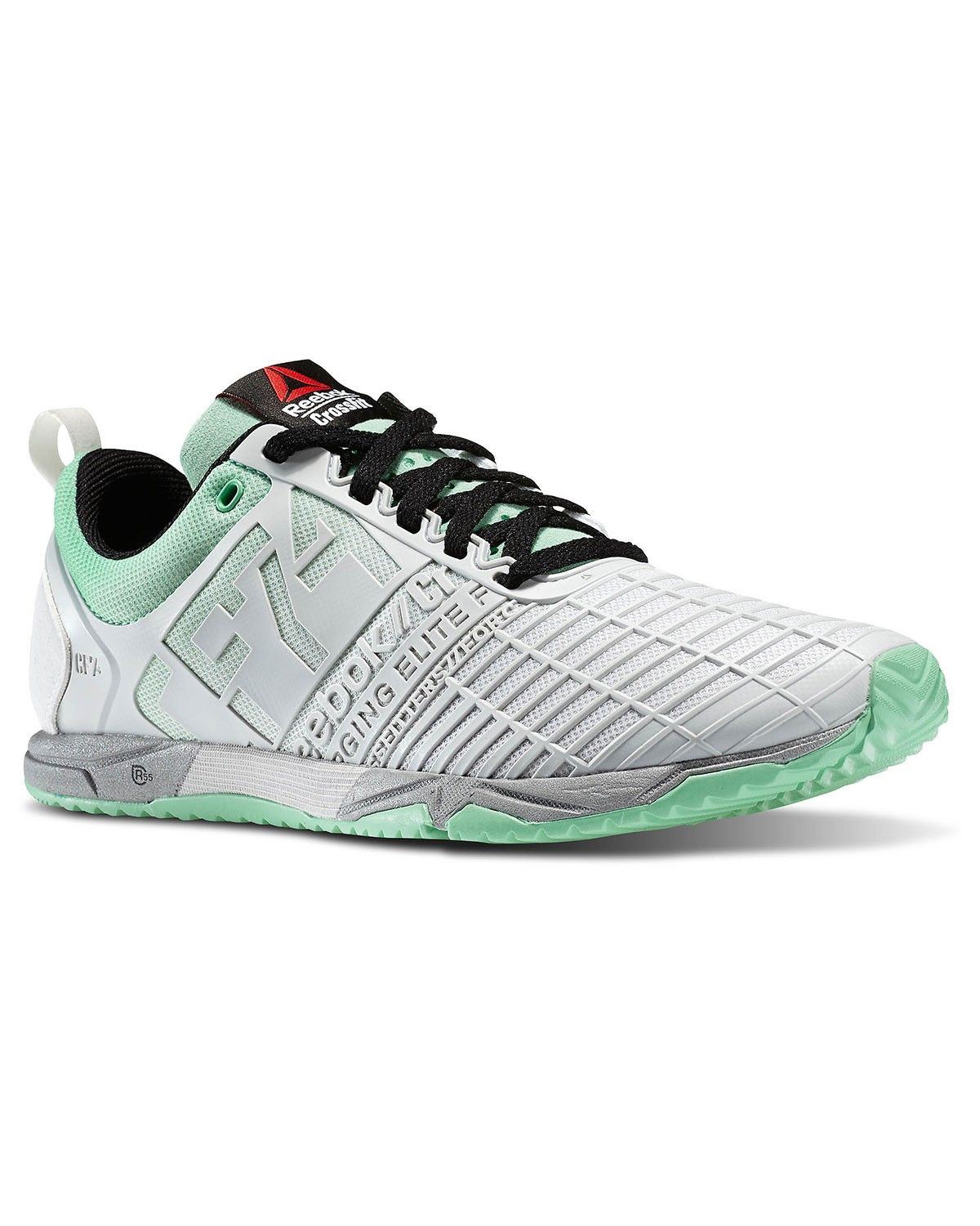 Reebok Womens Crossfit Athlete Select Pack Sprint Tr Training Sneaker in  Grey Porcelain / Mint Glow / Black / Silver Size
