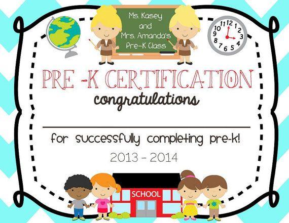 pre school graduation diploma printable by thepapermommie 10 00