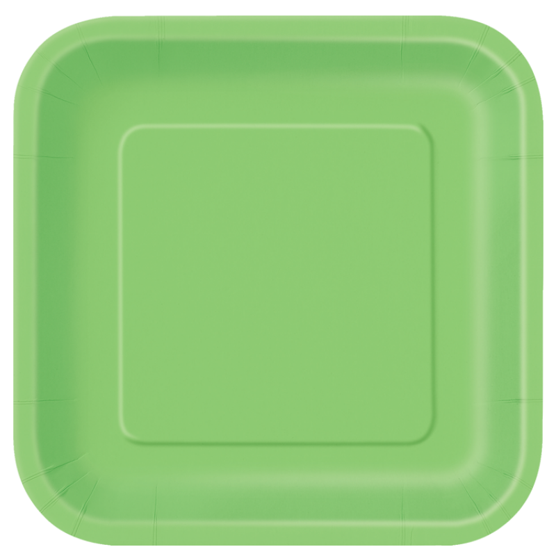 Paper Party Plates Green X8 Green Dinner Plates Paper Plates Party Party Plates