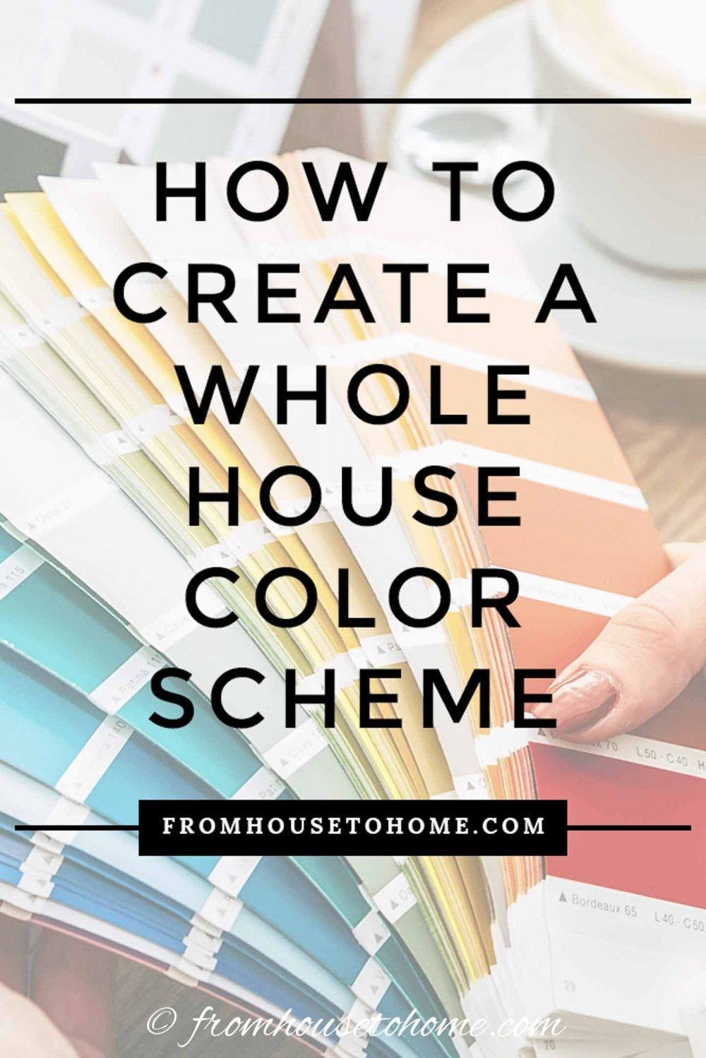 find out how to choose a beautiful whole house color on how to choose interior paint color scheme id=58799