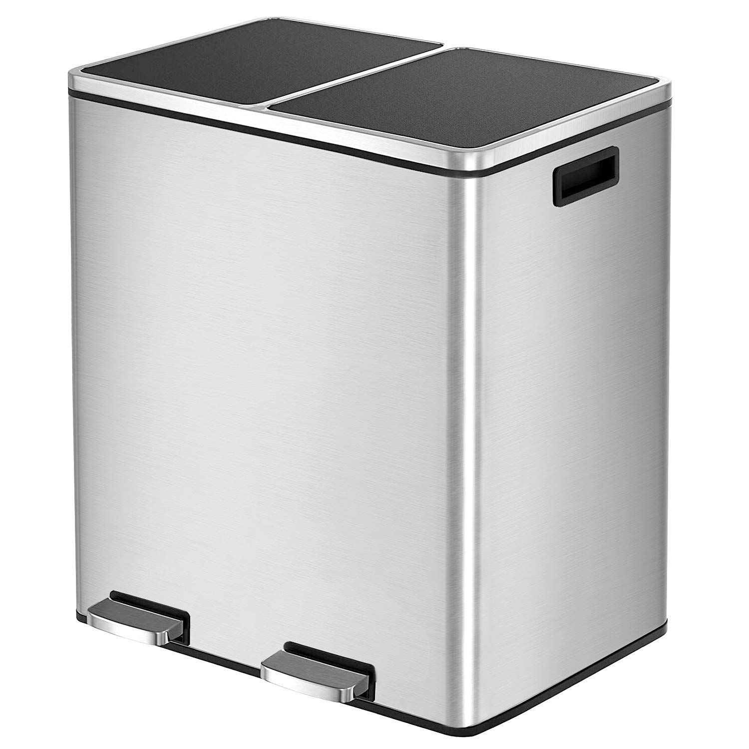 Hembor Dual Trash Can Trash Can Kitchen Office Garbage Can