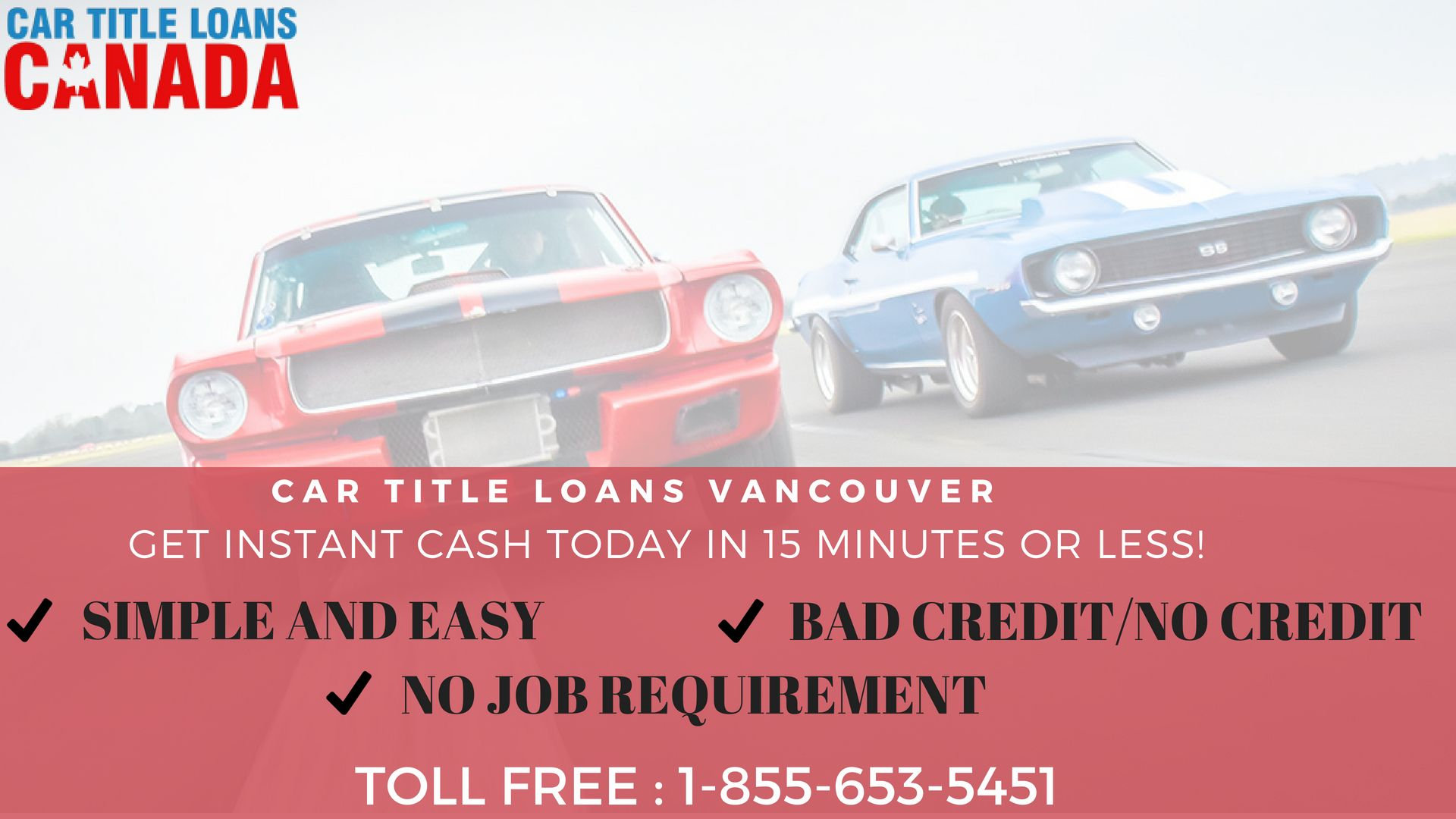 Car Title Loans Canada Provides Car Title Loans In Vancouver With