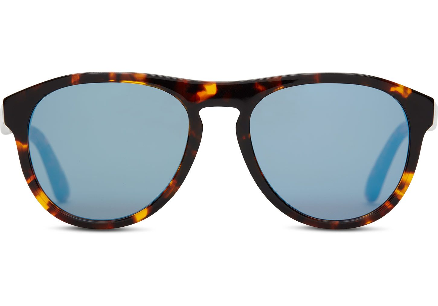 287a63e121 The Declan is designed for the confident and fearless. Whiskey tortoise  frames and blue mirror