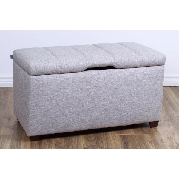 Trinidad Bedroom Upholstered Storage Bench In 2020 Storage