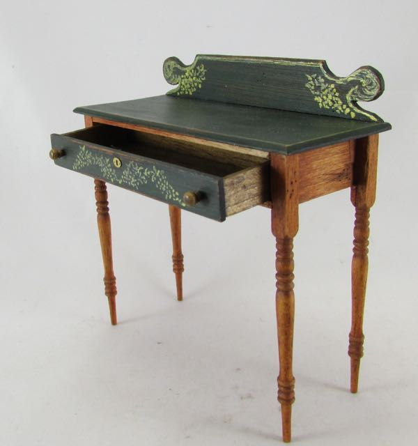 newest collection d9883 c5ecf BM Dressing table green 2-min | Miniatures | Bedroom ...