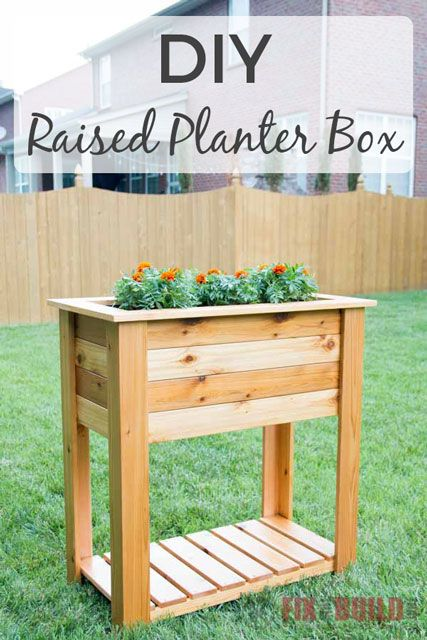 Diy Raised Planter Box Raised Planter Boxes Planter Box 400 x 300