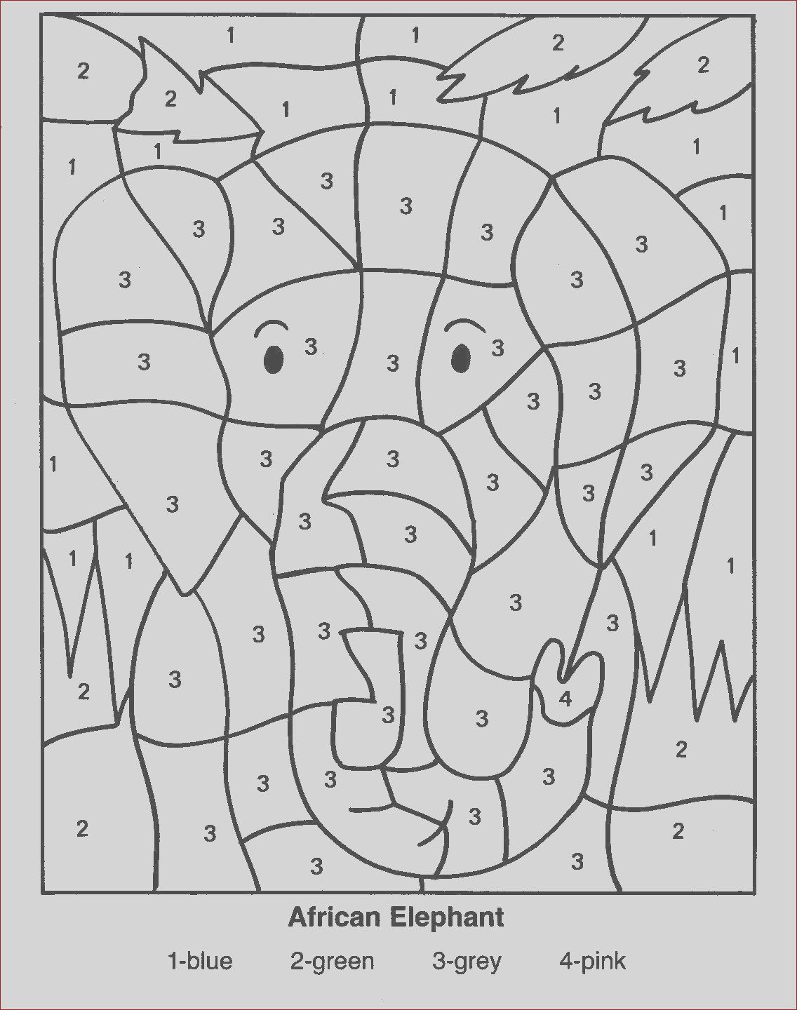 20 Luxury Gallery Of Coloring Pages With Numbers In