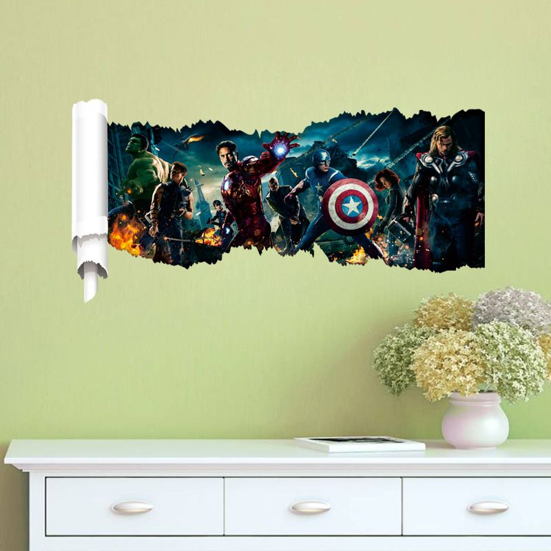 marvel 3d wall art page 1 - Marvel | Kids ideals | Pinterest | 3d ...