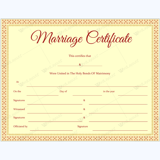 marriage certificate 39