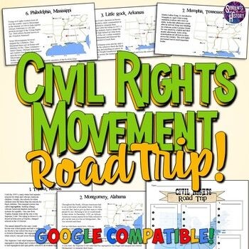 Photo of Civil Rights Movement Road Trip Lesson