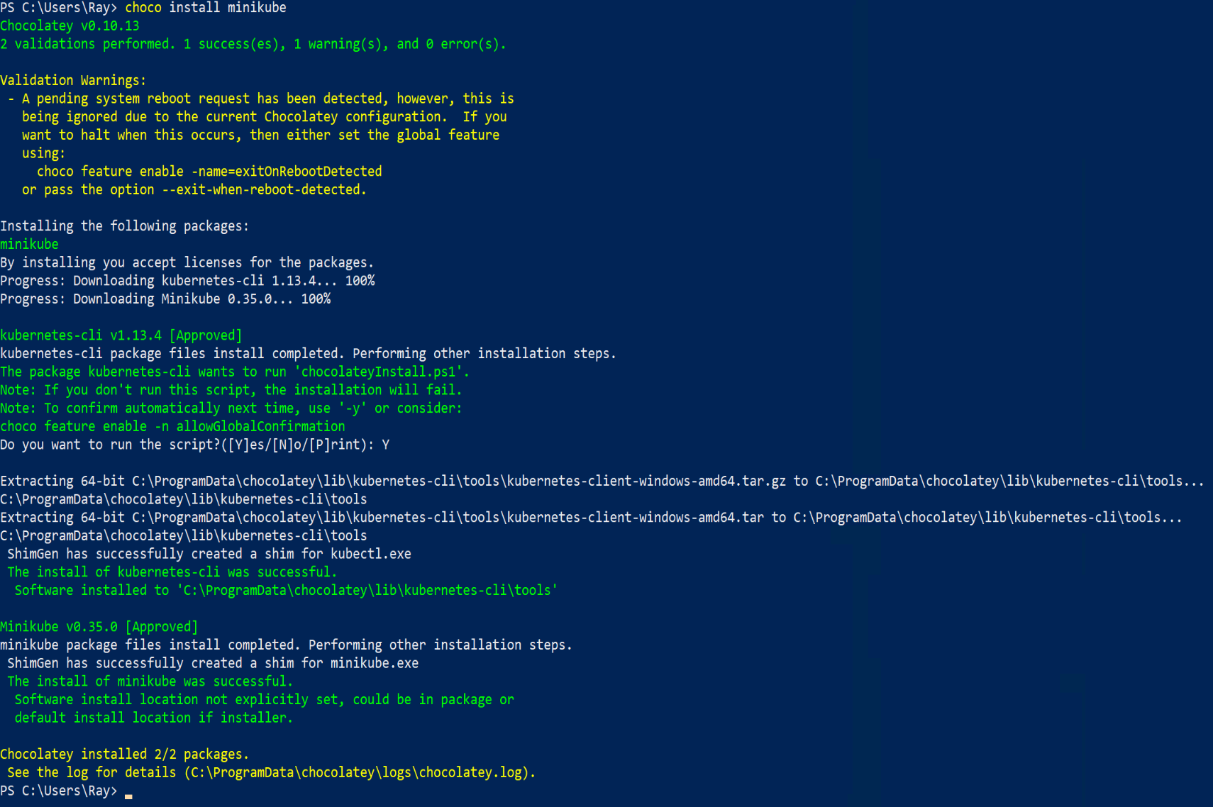 Getting Started With Kubernetes On Windows 10 With Hyper V Hyper Get Started Network Switch