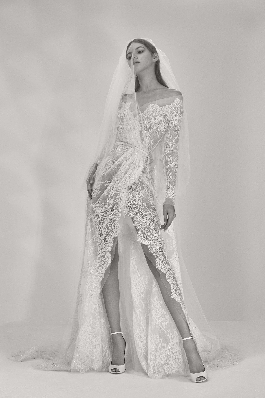 Elie saab bridal fall fashion show weddings pinterest