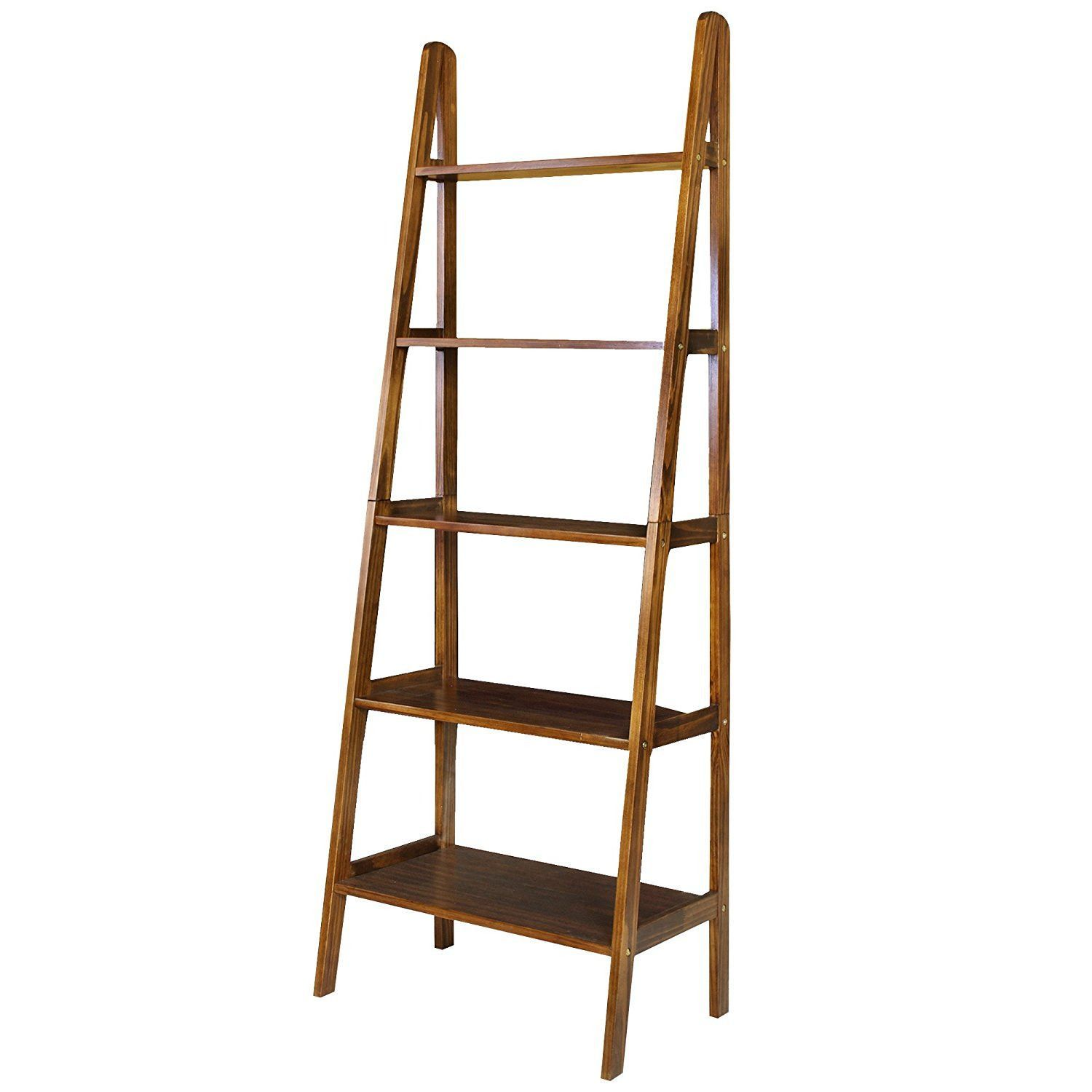 Casual home shelf ladder bookcaseespresso products