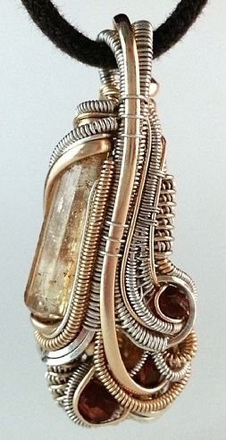 ©Ashton Tammerine #wirewrap #jewelry #wirewrapjewelry