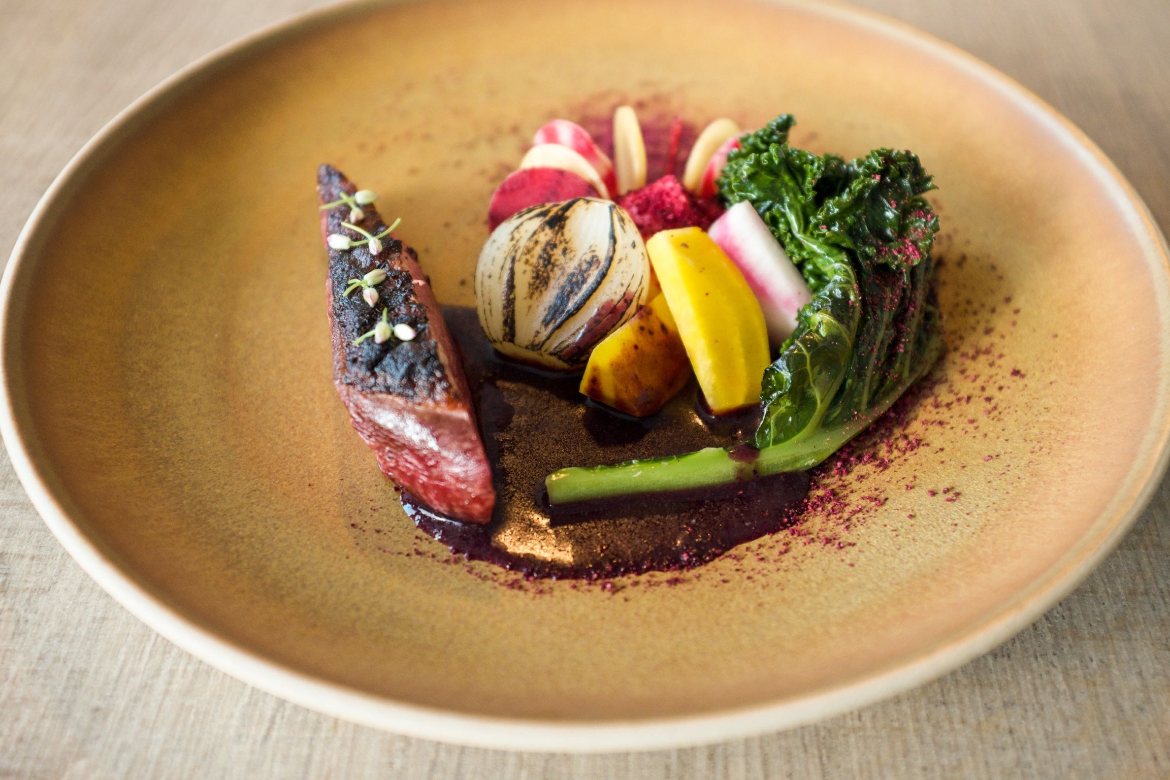 Duck -Cabbage - Beets