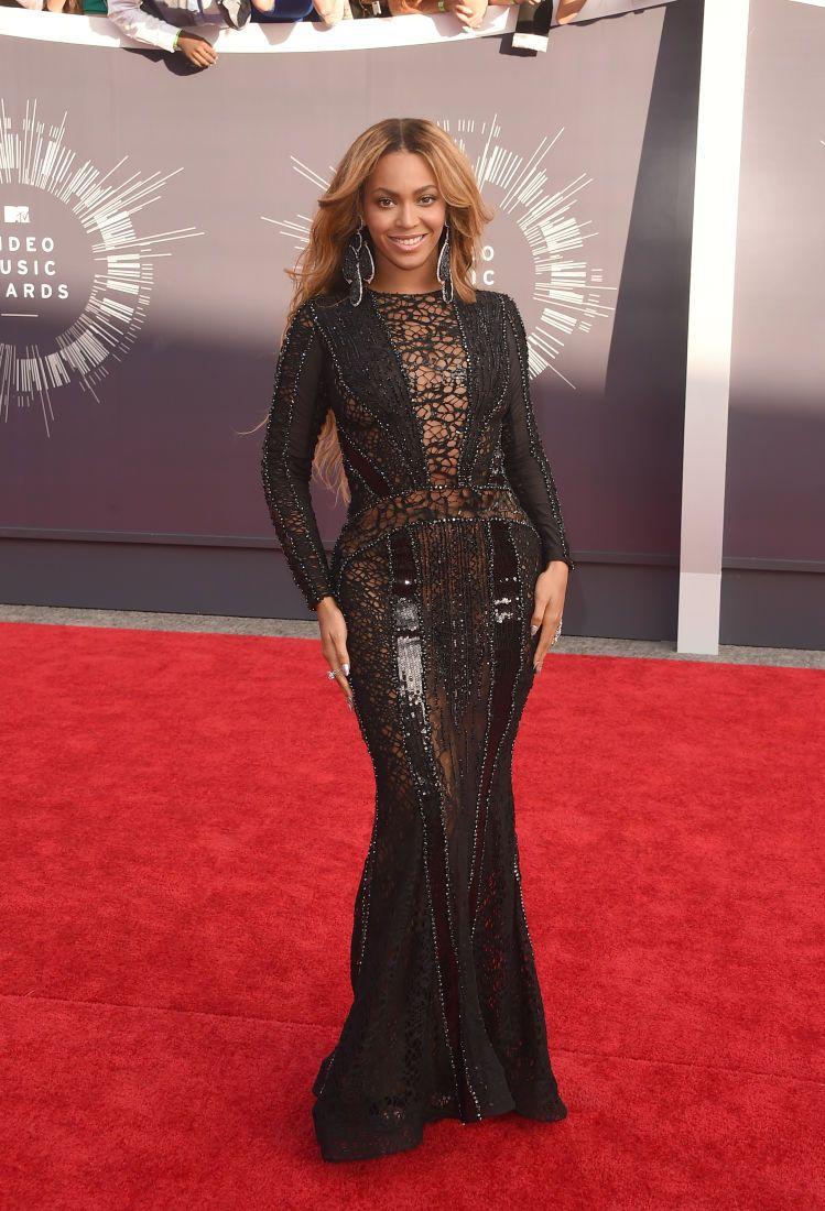 StyleTO Party en el Vestido Negro | Long Black Dress Beyonce in Nicolas Jebran.