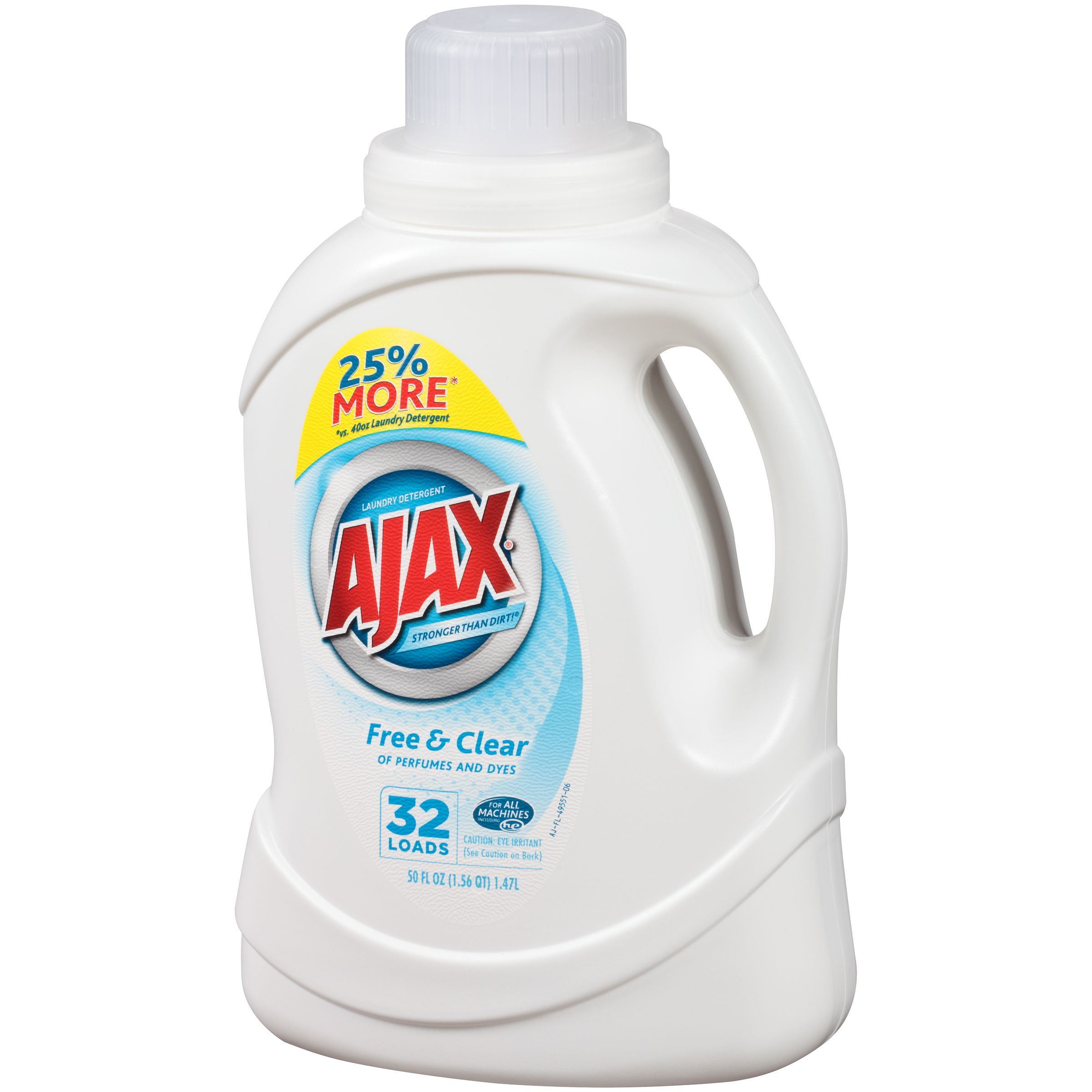 Ajax Free Clear Laundry Detergent Ajax Laundry Detergent