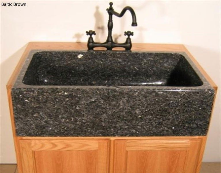 Quiescence SI-FSP-3319 Natural Stone Farm Sink Installed ...