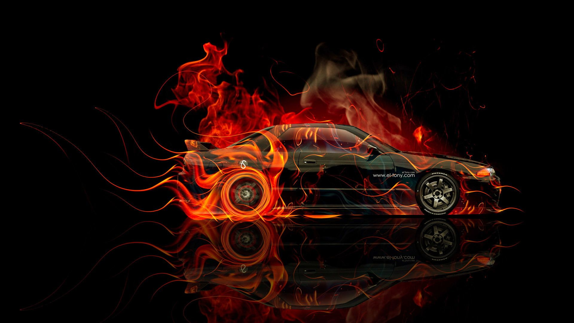 Download Fire Car Theme Mobile Themes Sony Ericsson Themes Mobile Fun Car Wallpapers Sports Car Wallpaper Car