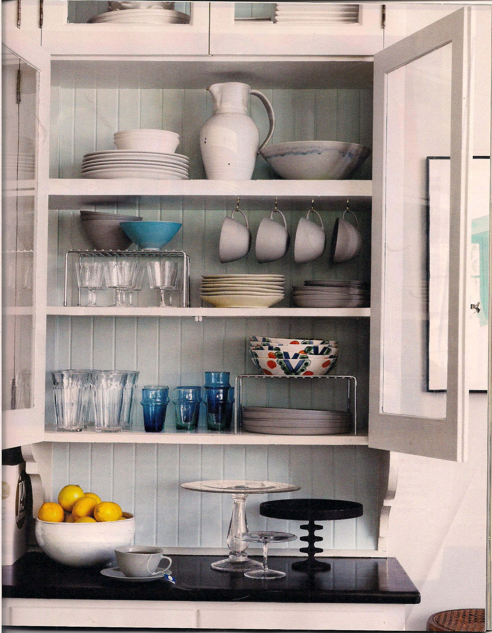 Not Just Because You Have Glass Cupboards, But Because There