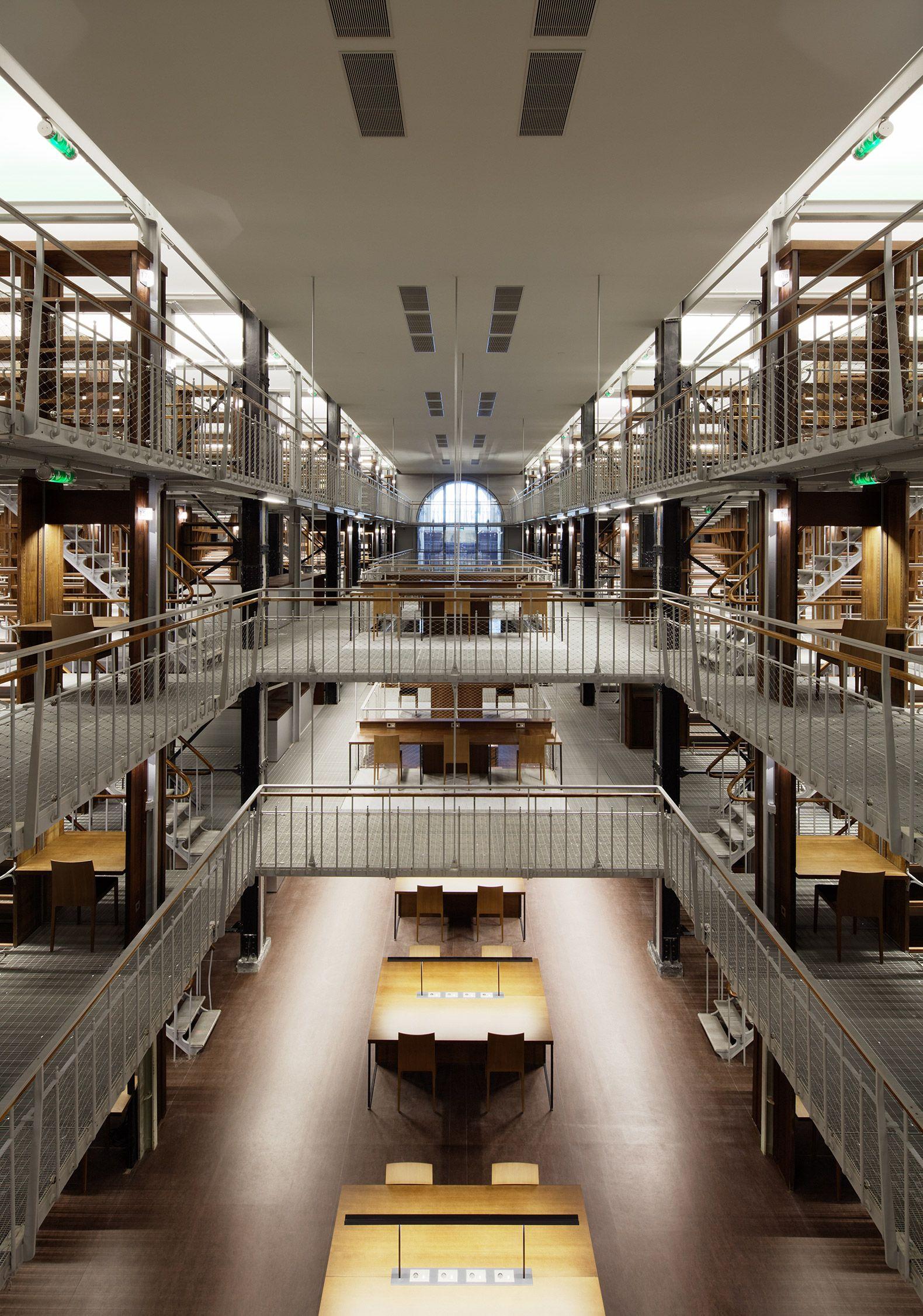 de la biblioteca nacional de francia en pars por atelier bruno gaudin