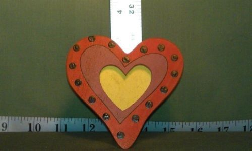 Crafts - CHM00016 - Painted - Handmade Small heart picture frame