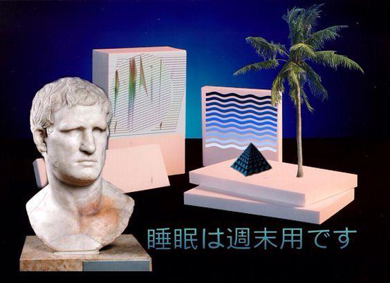 #vaporwave #aesthetic #retro #comp #int #internetart #internet #marble #statue #sculpture