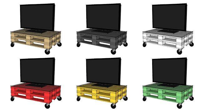 Costruire Mobile Porta Tv Fai Da Te.Come Costruire Un Mobile Per La Tv Con I Pallet Video